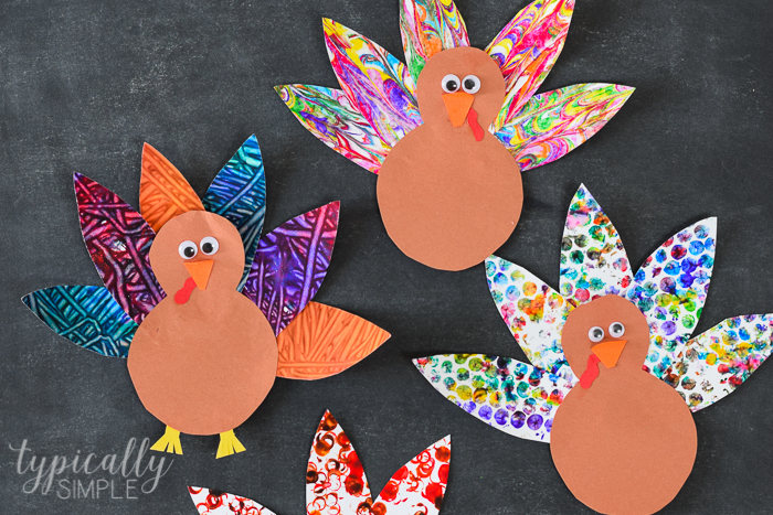 5 Turkey Crafts for Kids - Typically Simple