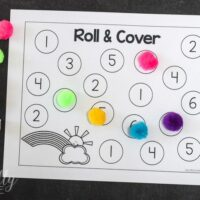 Roll & Cover: Spring Rainbow