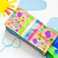 Paper Bag Kite Craft